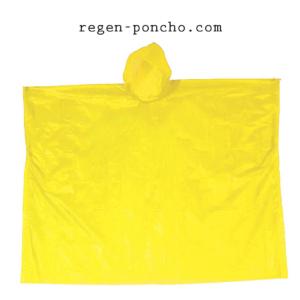 Notfallponcho-gelb