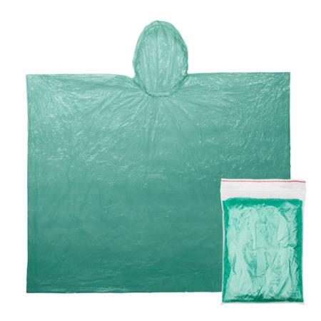 Regenponcho grün